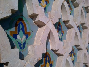 Details on the Mosque walls