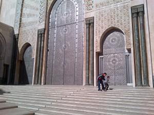Mosque doors...remind me of Zanzibar